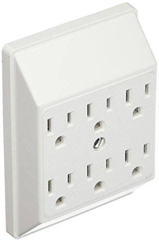 UPC 032664517815, Eaton 1146W-SP 15-Amp 125-Volts Six Outlet Tap Duplex Receptacle, White