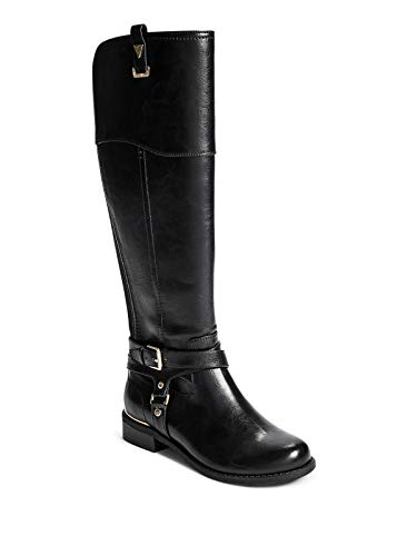 GUESS Factory Women's Hollow Harness Buckle Riding Boots
