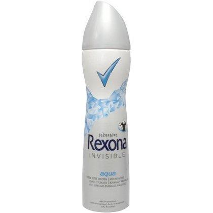 Rexona Deospray Women - Invisible Aqua - 6er Pack (6 x 150 ml)