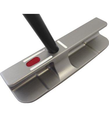 SeeMore PTM 1 Blade Golf Putter, Platinum, 35-Inch