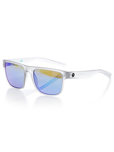 Lens Ion Crystal - Sunglasses DRAGON DR INFLECTOR H 2 O 035 MATTE CRYSTAL SLATE/BLUE ION