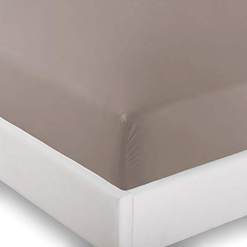 Ivy Union 2 Twin XL Fitted Bed Sheets (2-Pack) - Twin Extra Long, 15 Deep Pocket, 39 x 80, (Twin XL, Taupe)