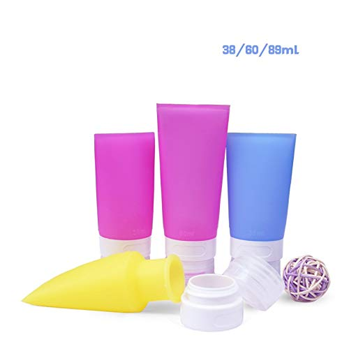 happy- little -bear 38ml Silicone Cosmetic Makeup Liquid Travel Containers Tubes Pots Portable Bottle