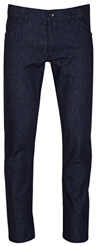 Dolce & Gabbana Men's Classic Dark Blue Straight Leg Cotton Denim Jeans, Blue, 32 - Dolce & Gabbana Straight Leg Jeans