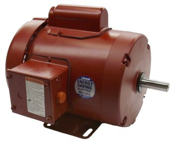 1/2 hp 1725rpm 56 Frame TEFC (Farm Duty) 115/208-230 volts Leeson Electric Motor # 110086