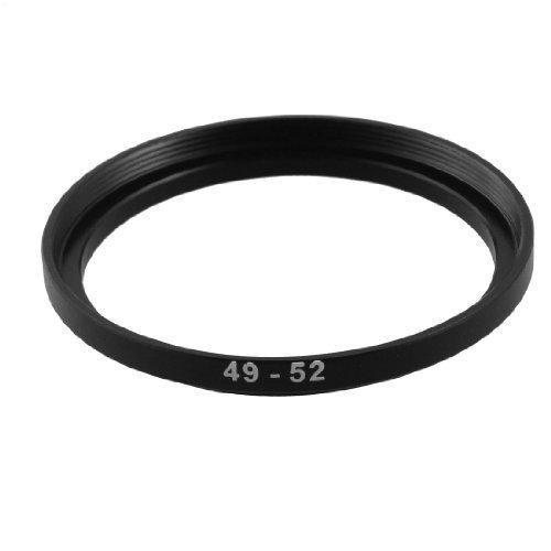 TOOGOO (R) Camera ricambio anello adattatore filtro Step Up in metallo 49 millimetri-52 millimetri 008682