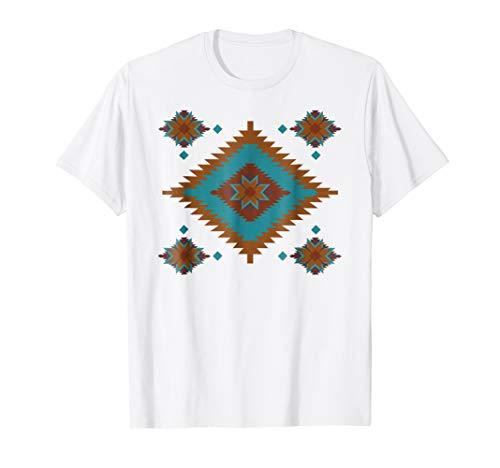 Southwestern Santa Fe Tribal Indian T-Shirt
