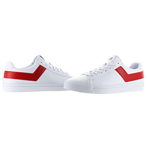 Core Sneaker Shoes Red Women's Retro Top Pony Star Fashion White q0YxEP6wZn