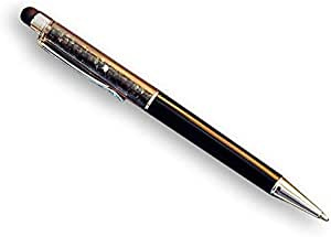 Crystal Encrusted Stylus Pen for Touch Screens - Black