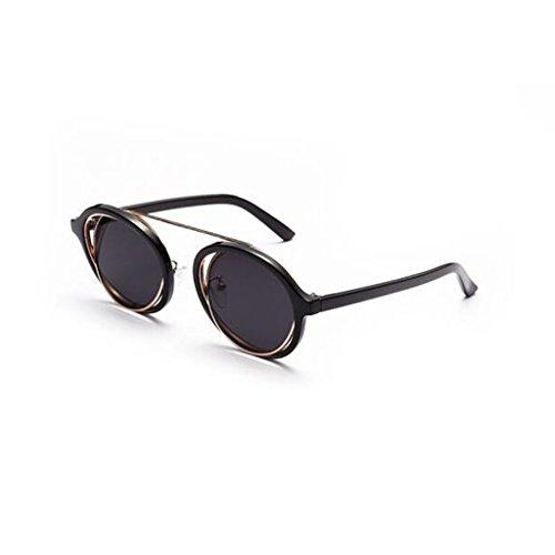 Simple Vintage Circular Moda Color QZ De HOME Playa 2 De Sol 2 Gafas Luz Personalidad Polarizada Oq7POY