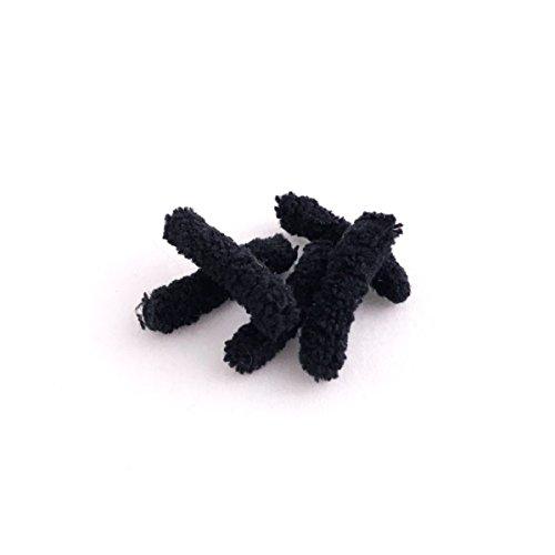 B&C Fishing Supplies Mop Fly Bodies (Black)