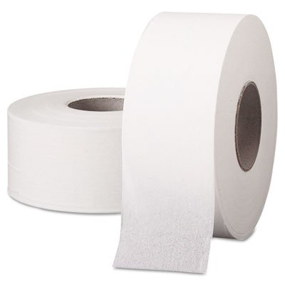 Scott Jumbo Roll  Commercial Toilet Paper , 1-PLY, White, 12