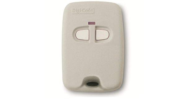 Digi Code 5070 2 Button Keychain Gate Garage Door Remote Control Digicode Dc5070 Amazon Com