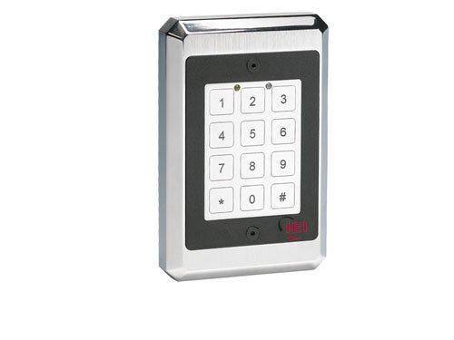 Linear 232FX Indoor/Outdoor Flush mount Harsh Environmental Keypad, 12 to 24V DC, 3.44