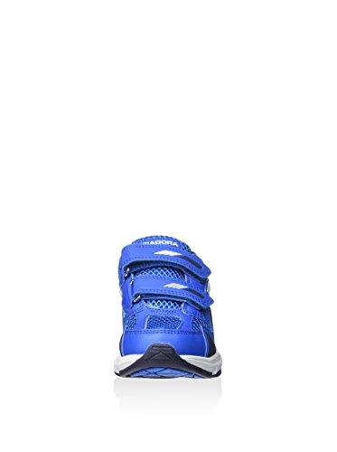 Diadora - Zapatillas de voleibol para hombre Azul / Blanco