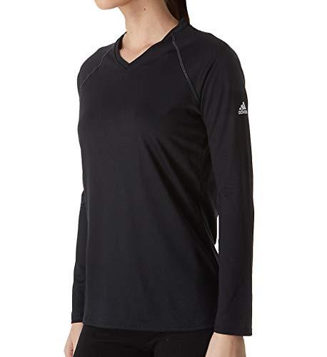 Women's sld Sleeve Adidas Shirt Long Climalite Black T8wxCqvd