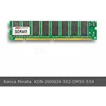 DMS Compatible/Replacement for Konica Minolta 2600634-502 256MB DMS Certified Memory PC100 PC/G4 32X64-8 CL2 SDRAM 168 Pin DIMM (16 CHIP) V