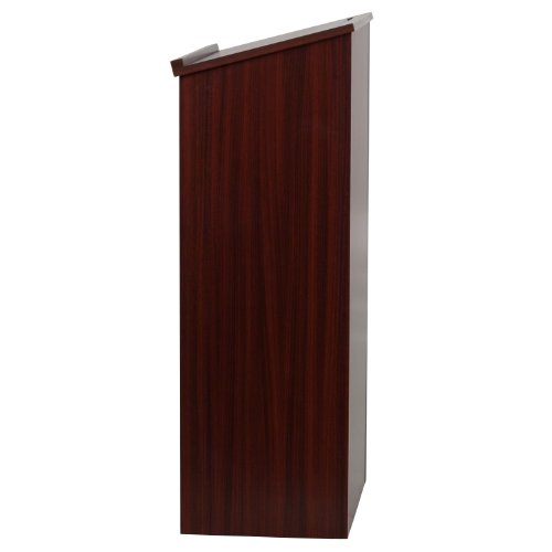 Flash Furniture Stand-Up Wood Lectern in Mahogany by Flash Furniture (Image #1)