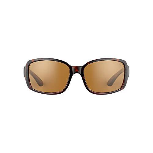 Eddie Bauer Womens Kaylee Polarized Sunglasses, Tortoise Regular ()