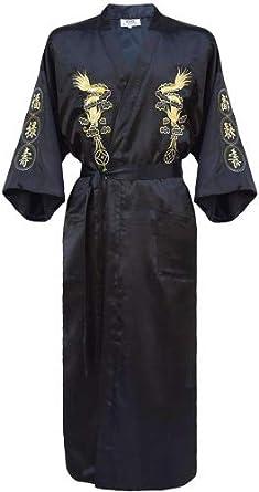 Kimono Homme Noir 1