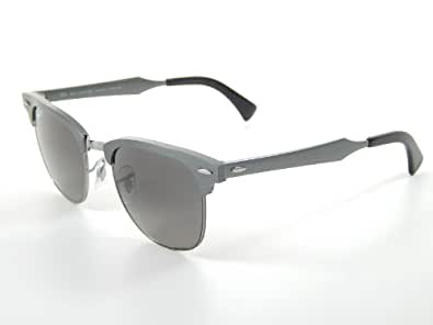 Amazon.com: Ray Ban Aluminum Clubmaster RB3507 138/M8