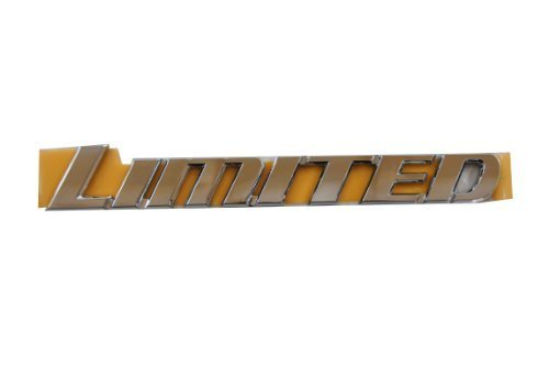 Genuine Toyota Accessories 75442-35080 Limited Emblem by Toyota (2014 Toyota Camry Emblem compare prices)