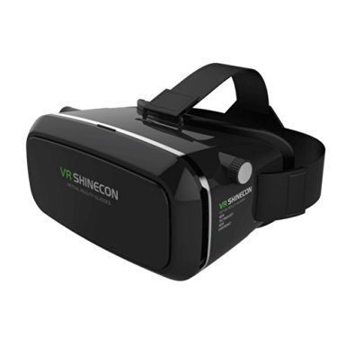 3D VR Glasses Headset with Adjustable Lens and Strap for 3.5-5.5-Inch Smart phones