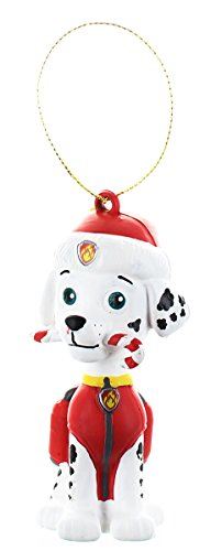 Paw Patrol Marshall with Candy Cane Fire Fighter Dalmatian C