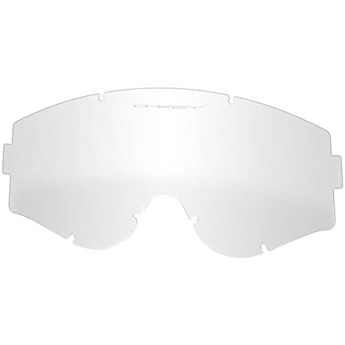 Oakley L-Frame MX Replacement Lens (Clear, One - Sports Protective Eyewear Oakley