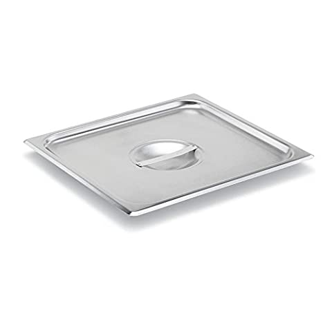 Vollrath Super Pan V 2/3 Size S/S Solid Cover - 2/3 Baking Pan