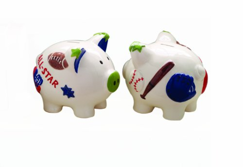 Piggy Bank Icon (Mud Pie Bank, All Boy Sports)