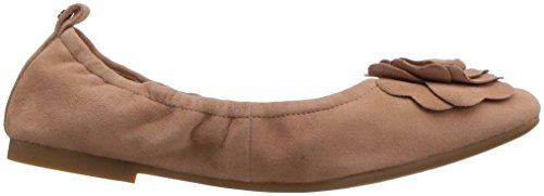 Taryn Rosa Womens Rosalyn Balletto Piatto Morbido Beige