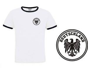 Maillot Equipe De Football Allemagne Allemande Style R?tro (Taille S) Neuf (Style Maillot)