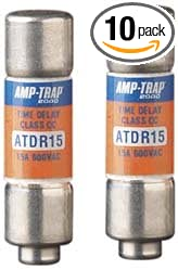 Mersen ATDR2 600V 2A Cc Time Delay Fuse 10-Pack