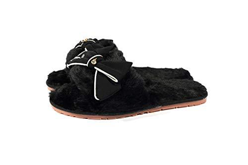 Nero Rutasunshine Rutasunshine Pantofole Donna Pantofole Donna OXxqE