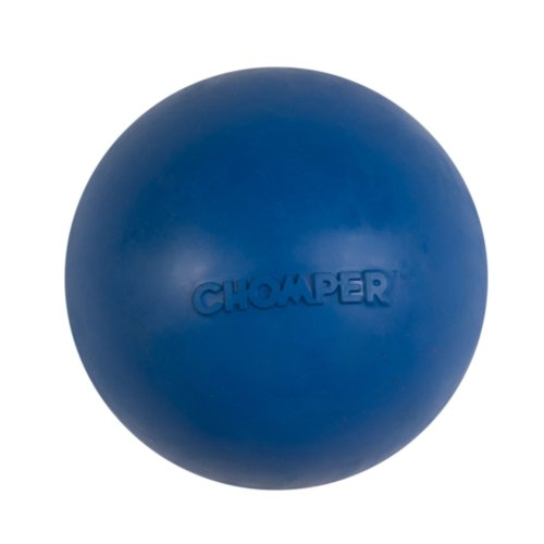 Boss Pet Chomper Mongoose Rubber Ball Toy for Pets, Large, A