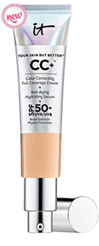 It Cosmetics Your Skin but Better CC Cream with SPF 50 Plus (Medium Tan) - 1.08 oz ...