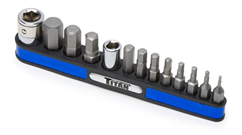 Titan 16039 Tr Impact Star Bit Set-Pack de 13
