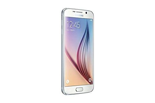 Samsung Galaxy S6 SM-G920F 32GB Unlocked GSM Smartphone - International Version, No Warranty (White Pearl)