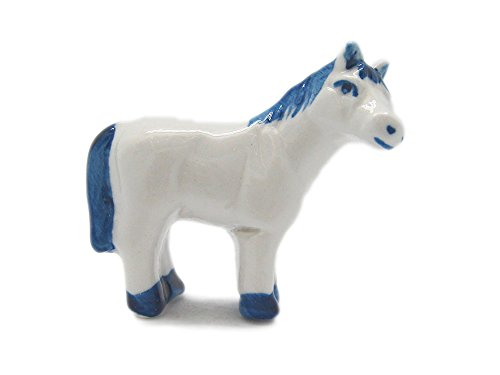 Collection Porcelain Europa - Essence of Europe Gifts E.H.G Delft Porcelain Animals Miniatures Horse