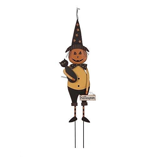 Glitzhome Iron Halloween Witch Garden Yard (Halloween Stores In Texas)