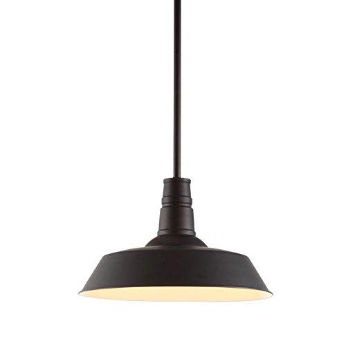 (Zuo 98245 Tin Ceiling Lamp, Rust)