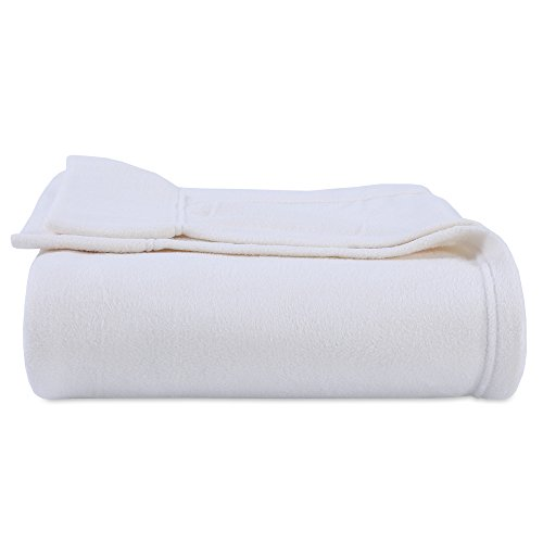 Berkshire Blanket Original Microfleece Sheet Set, Full Warm Ivory (Ivory Fleece Sheet Set)