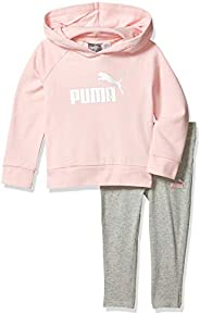PUMA Girls Girls' Fleece Hoodie Set Sweat