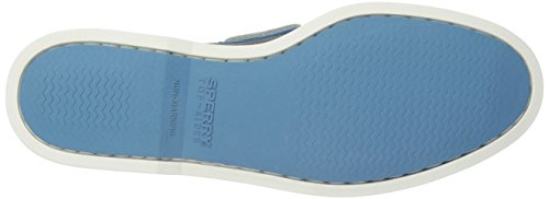 Sperry Top-sider Mens A / O Scarpa Da Barca 2-eye Perfed Grigio / Blu