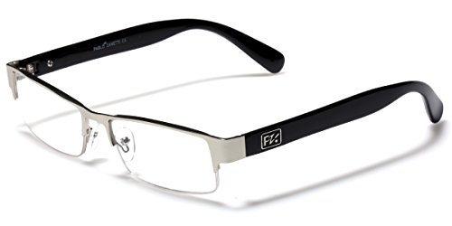 Rectangular Half Frame Reading Glasses Fashion Designer - Glasses Designer