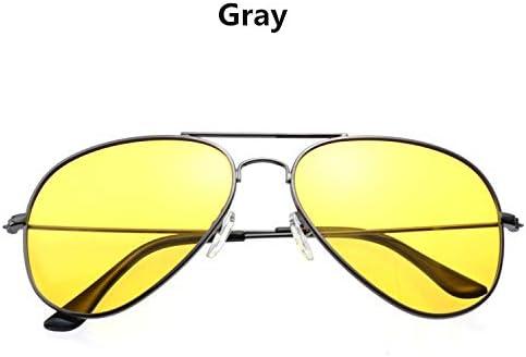 TYJYY Gafas de Sol Aviación Visión Nocturna Gafas De Sol ...