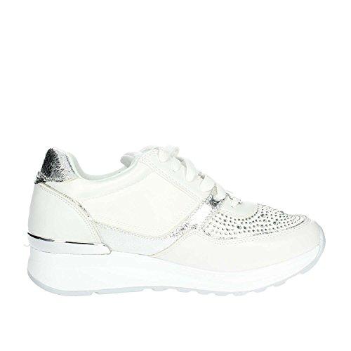 Laura 675 White Low Biagiotti Women Sneakers qf1qFrOC