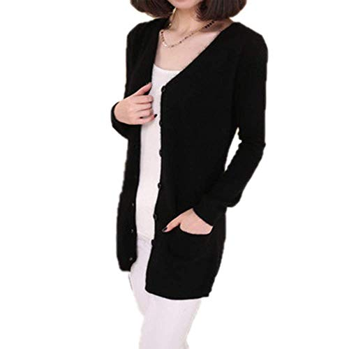Used, Friendshiy Wool Sweater Medium Long Cashmere Cardigan for sale  Delivered anywhere in Canada