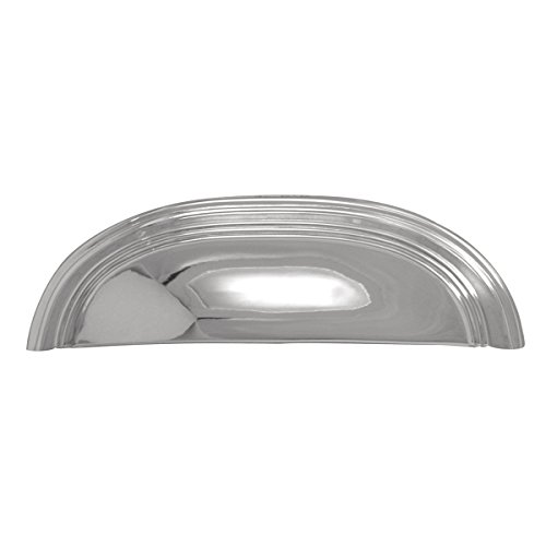 (Hickory Hardware P2144-CH American Diner Cup Cabinet Pull, 3-Inch, Chrome)